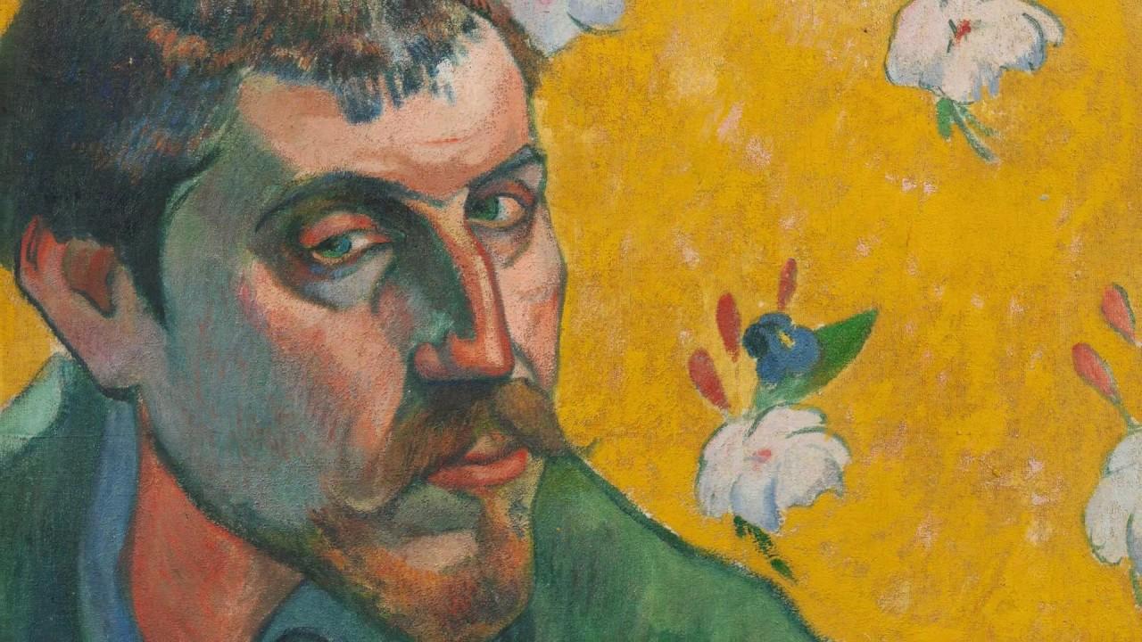 Paul Gauguin Self Portrait With Portrait Of émile Bernard Les Misérables