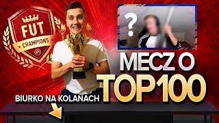 HIT ŻYCIA! MECZ o TOP 100 z BIURKIEM na KOLANIE w FUT CHAMPIONS! FIFA 19 ULTIMATE TEAM!