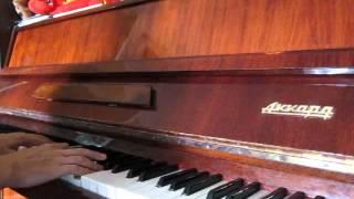 """В.Лебедев """"Песня о любви"""" (piano cover, """"Гардемарины, вперед!"""")"""