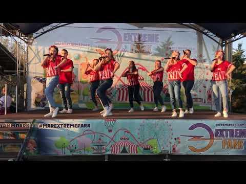 Попурри Украинских песен в исполнении шоу-группы Максимум 21.09.2019