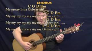Galway Girl (Ed Sheeran) Fingerstyle Guitar Cover Lesson in G with Chords/Lyrics