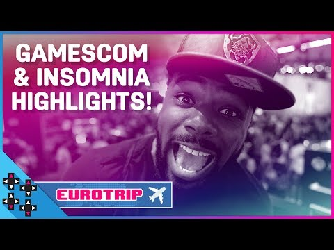GAMESCOM and INSOMNIA 2018 highlights! – UUDD Vlogs