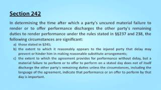 Video 31. Contracts: Material Breach and Constructive Conditions download MP3, 3GP, MP4, WEBM, AVI, FLV November 2017