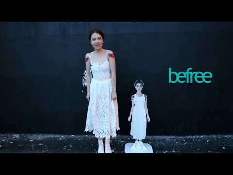 befree + Лена Шейдлина: МОЙ КАРТОННЫЙ ИДЕАЛ КРАСОТЫ