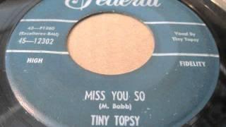 tiny topsy - aw! shucks baby + miss you so