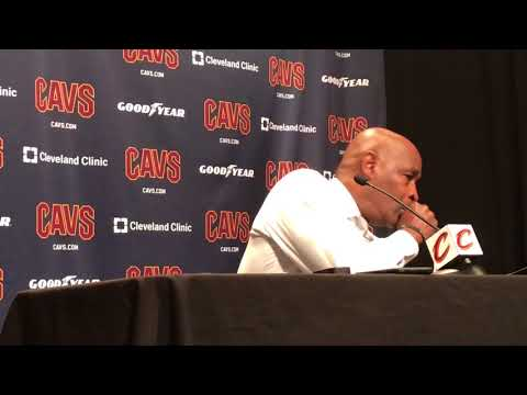 Larry Drew on Cavs coach Tyronn Lue missing game with illness