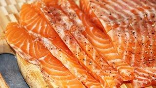 Как засолить лосось ?