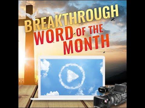 Breakthrough Prophetic Word for September 2019 (Video