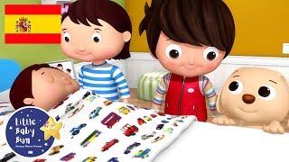 Canciones Infantiles | Hermanito, ¿duermes tú? | P2 | Dibujos Animados | Little Baby Bum en Español