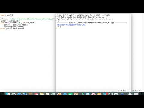 How To Generate The MD5 Checksum Of A File Using Python