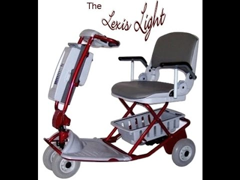 Lexis Light Folding Mobility Scooter