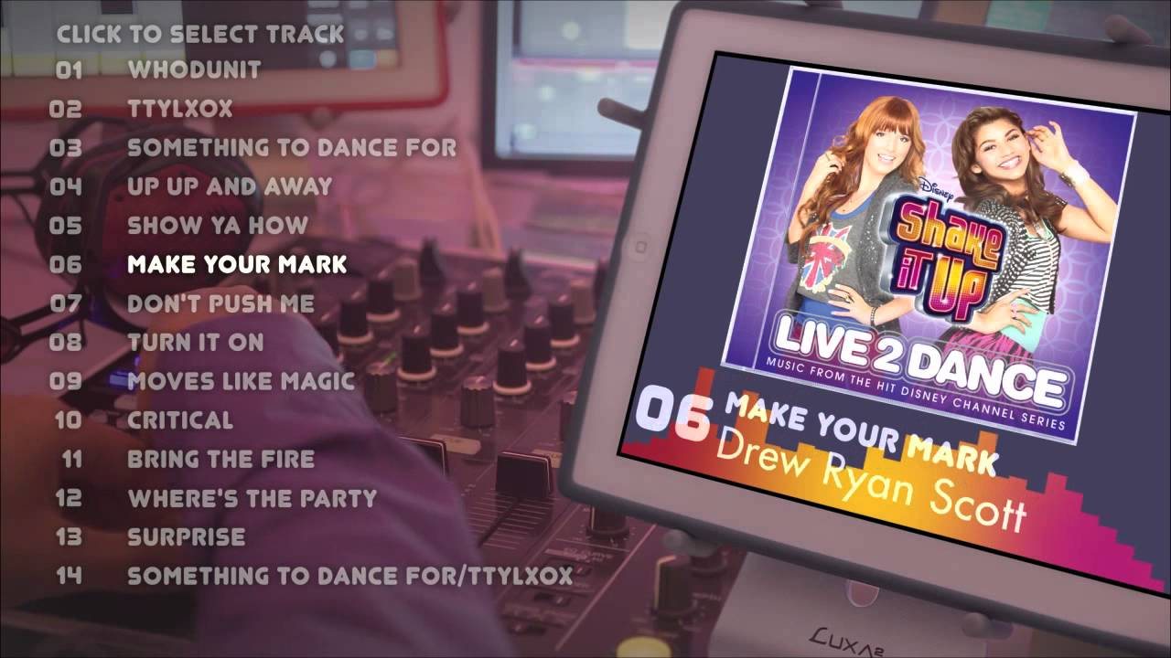 Shake It Up Live 2 Dance Album Preview Youtube