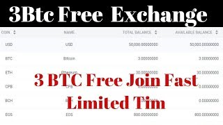CoinPool New Exchange 3 Btc Free Join Fast Limited Time | Best Earning Tips