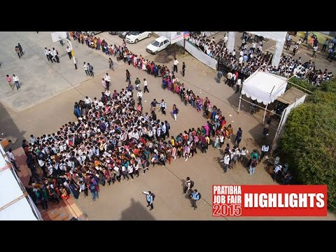 Highlights of Pratibha Job Fair 2015 | Mega Off Campus Recruitment Drive, Chinchwad Pune