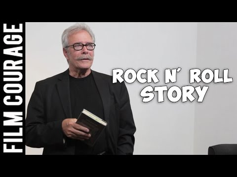 Actor Guerin Barry Reads About One Of The Founding Fathers Of Rock N' Roll