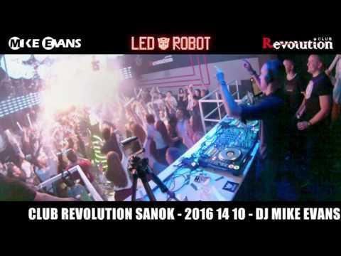 CLUB REVOLUTION SANOK OTRZĘSINY - 2016 10 14 - DJ MIKE EVANS LIVE VIDEO MIX [HD]
