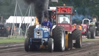 Tractorpulling 2017 Zelhem 3,5 - 4,0 ton Powerstock PowerpullersZuid