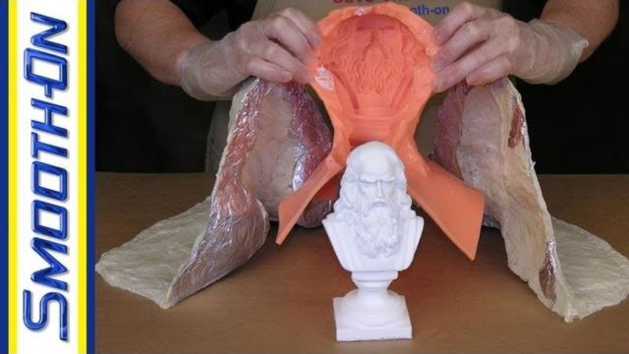 Mother Mold Making Tutorial: How to Make a Support Shell for a Silicone  Brush-On Mold