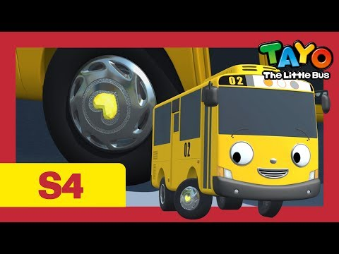 ⭐Tayo S4 #17⭐ Give me courage l Tayo the Little Bus l Season 4 Episode 17