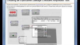 Видеоурок CADFEM VL1238 - Моделирование испытаний на разрушение при постоянной амплитуде цикла