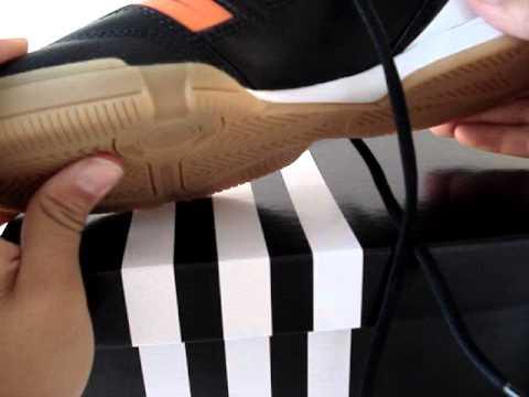 pretty nice f1adb eec16 Adidas Predator Absolado IN indoor soccer shoes (Black, Warning, White)  Unboxing