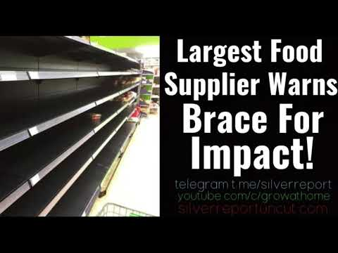 The Nations Largest Food Supplier Warns Of Empty Shelves, Food Inflation, Cancelled Orders To Areas