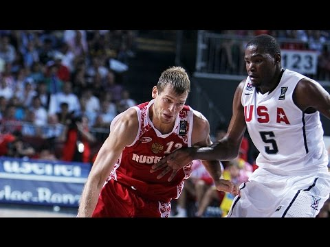 USA vs Russia 2010 FIBA World Basketball Championship Quarter Finals FULL GAME English