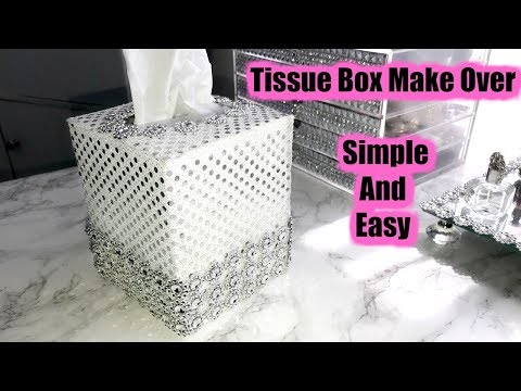 Tissue Box Makeover * Simple And Easy 💖💖