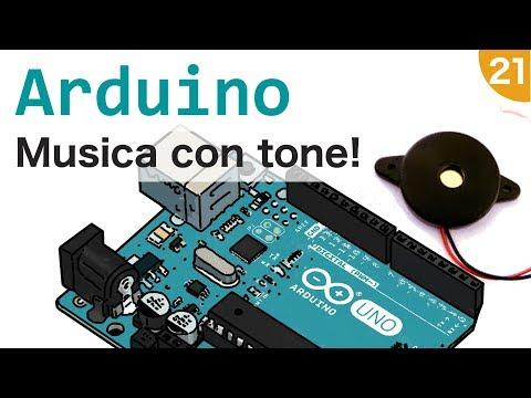 Fare musica con Arduino, tone e un piezo #21