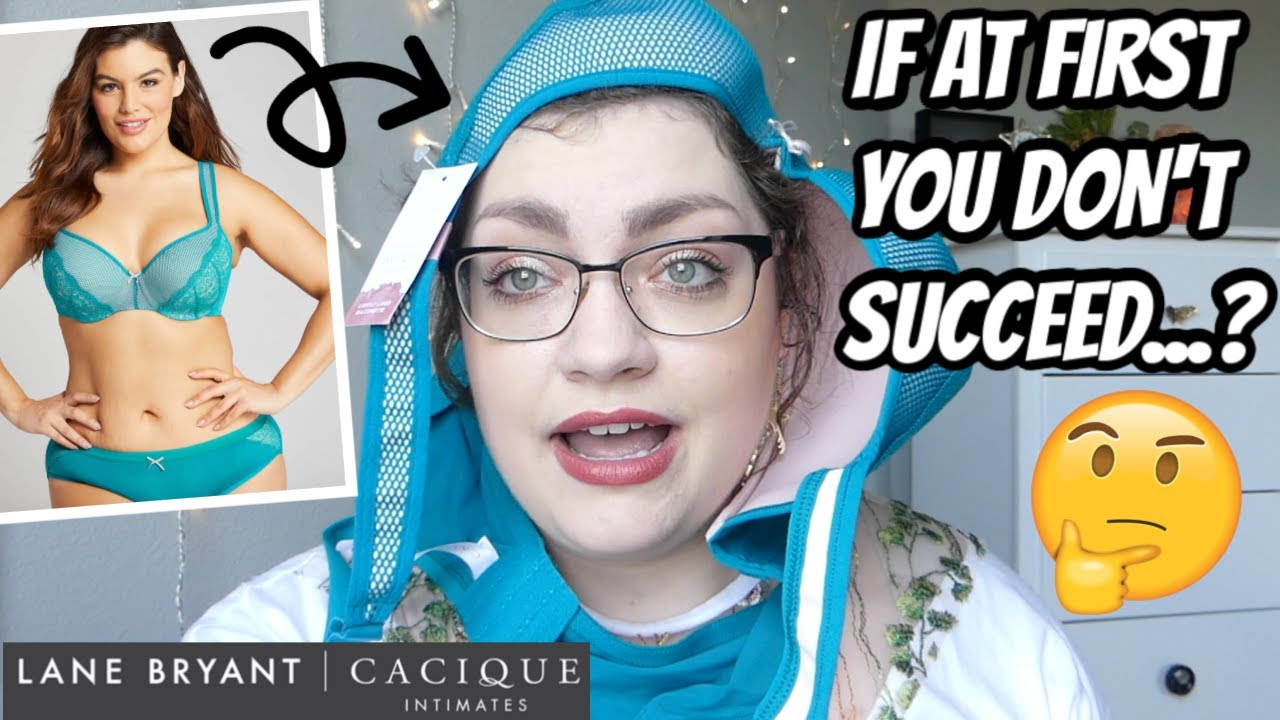 LET'S TRY THIS AGAIN... | LANE BRYANT CACIQUE Bra Try-On Haul (PLUS SIZE): ROUND #2