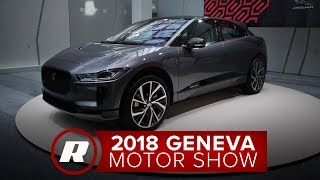 A quick spin in the 2019 Jaguar I-Pace electric SUV - 2018 Geneva Motor Show