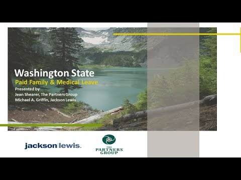 Washington Paid Family And Medical Leave