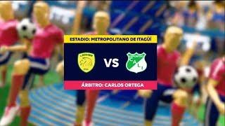 Leones vs Cali - Mejores jugadas -  Fecha 10 Liga Aguila II 2018