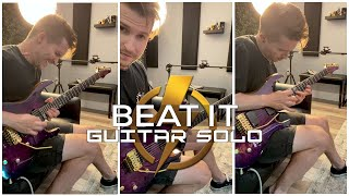 Beat It (Solo Cover) ⚡️ #Shorts