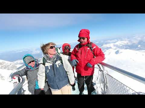 Un Ponton dans le ciel au Pic du Midi de Bigorre