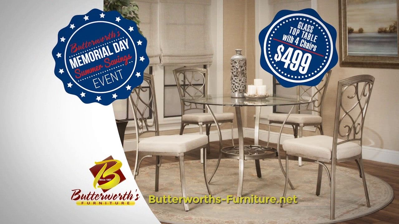 Butterworthu0027s Furniture Memorial Day 2017