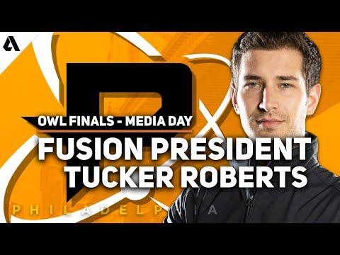 Philadelphia Fusion President Tucker Roberts Overwatch League Grand Finals Media Day Speech thumbnail