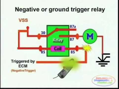 switches, relays and wiring diagrams 2 youtube12v Normally Closed Relay Wiring Diagram Free Picture Wiring #4