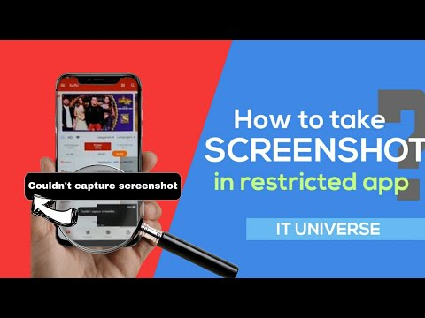 How To Take Screenshot/screenrecord In Restricted App.100% Working.