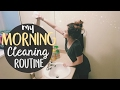 CLEAN WITH ME! || MORNING CLEANING ROUTINE 2017 || BETHANY FONTAINE