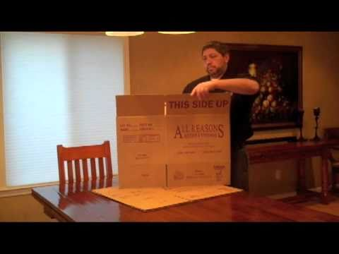how to make a moving box for packing youtube. Black Bedroom Furniture Sets. Home Design Ideas