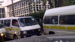 Nairobi traffic Jam leaving NHIF building