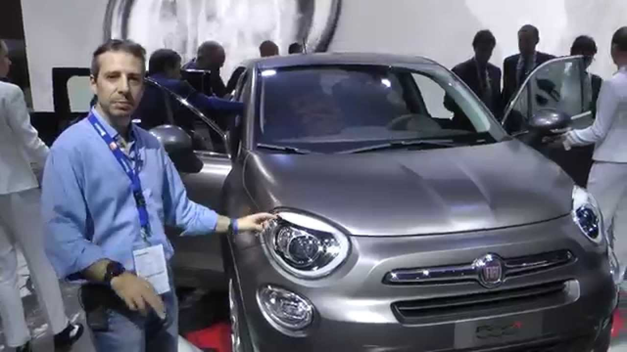 fiat 500x salone di parigi 2014 youtube