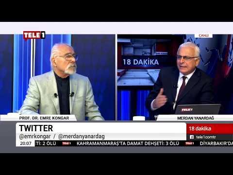 18 Dakika - (12 Kasım 2018) Merdan Yanardağ & Prof. Dr. Emre Kongar   Tele1 TV