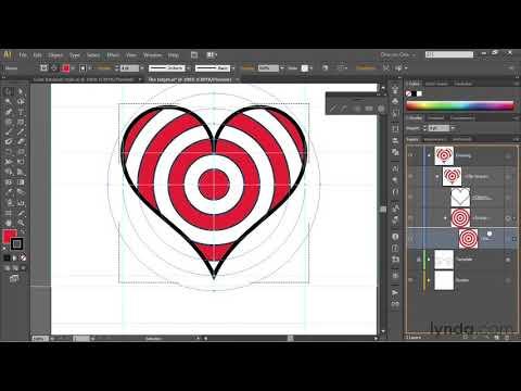 Illustrator Tutorial: Paste Shapes Inside Of Other Shapes