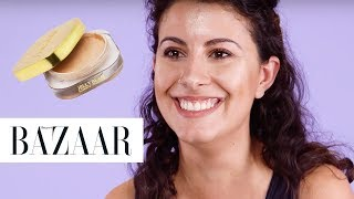 connectYoutube - Three Women Try the New Farsali Jelly Beam Highlighter | Harper's BAZAAR