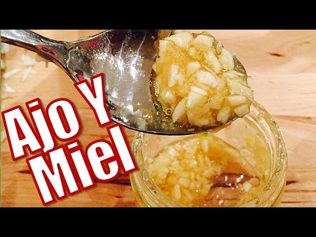 propiedades del ajo con leche y miel