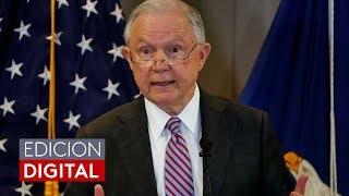 Fiscal Jeff Sessions anuncia una fuerza especial para la lucha prioritaria contra la pandilla MS-13 Free HD Video