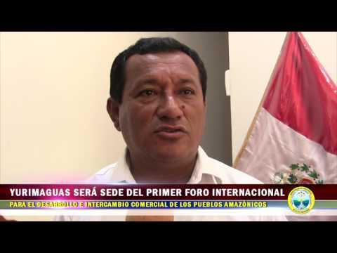 YURIMAGUAS SERÁ SEDE DEL PRIMER FORO INTERNACIONAL PARA EL DESARROLLO E INTERCAMBIO COMERCIAL