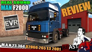 """[""""ETS2"""", """"Euro Truck Simulator 2"""", """"Engine Voice Records"""", """"sound mod MAN F2000 M.A.N 23.363 D2066 265 E3 2001 review"""", """"EVR""""]"""